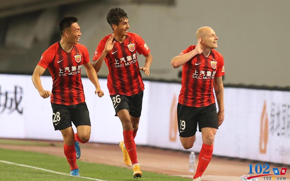 上海申花1-1上海海港