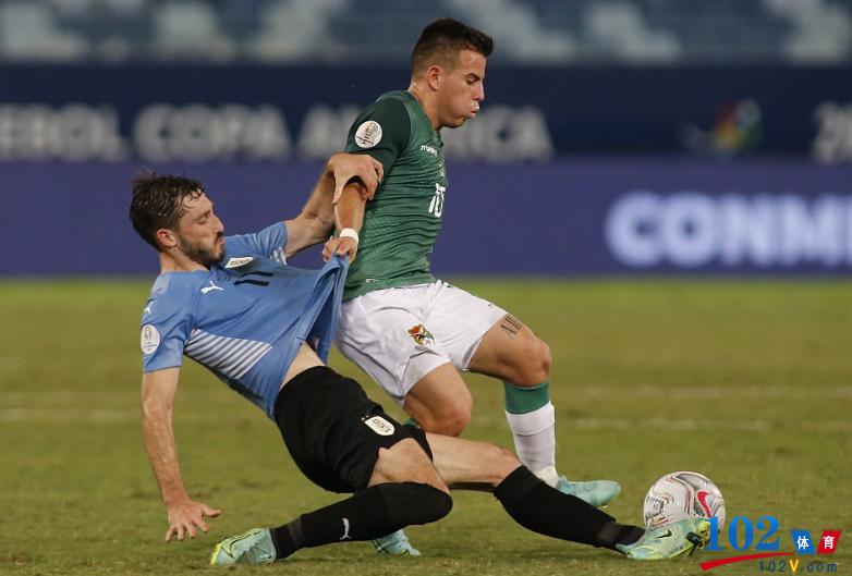 乌拉圭2-0玻利维亚