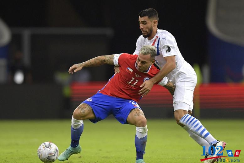 智利0-2巴拉圭